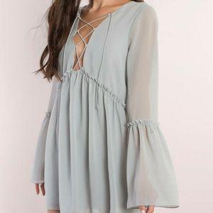 Nwt TOBI ADDY BLUE SHIFT DRESS